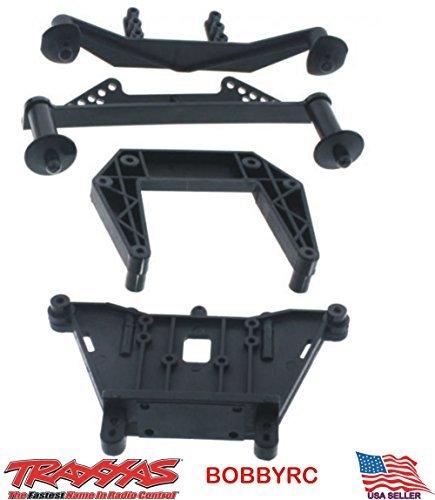 Slash 58034-2 Front & Rear Shock Towers w Body Post Mounts Traxxas