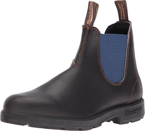 Blundstone Unisex 578 Stout Brown/Pale Blue Boot