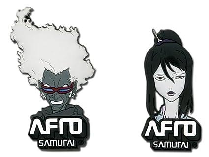 Afro Samurai Ninja Ninja y Okiku Pasadores: Amazon.es ...