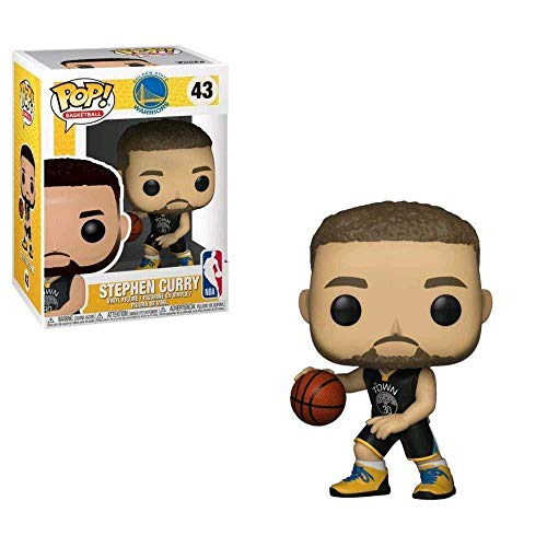 Funko 34449 Pop! Vinilo NBA Stephen Curry, Mu