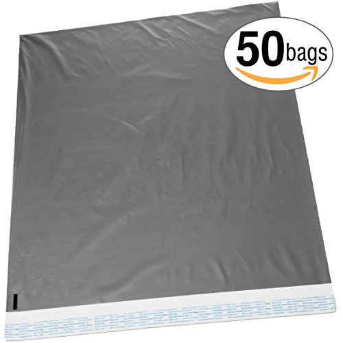 [22x28 Jumbo Self-Seal Poly Mailer Bags 2.5 Mil Silver (50 Pack)] (Size 28 Costumes)