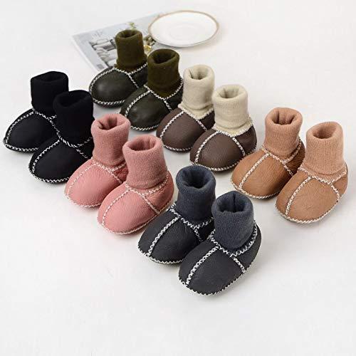 Boys /& Girls Genuine Sheepskin Boots for Baby Dodamsoop Brown