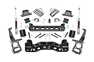 Rough Country - 573.20 - 6-inch Suspension Lift Kit w/ Premium N3 Shocks for Ford: 09-14 F150 2WD