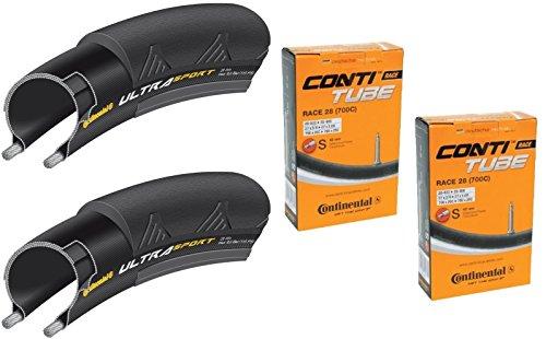 タイヤとチューブ2本セット Continental(コンチネンタル) UltraSport2 ウルトラスポーツ2 [並行輸入品]