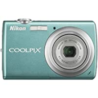 Nikon Coolpix S220 10MP Digital Camera with 3x Optical Zoom and 2.5 inch LCD (Aqua Green) Review Review Image