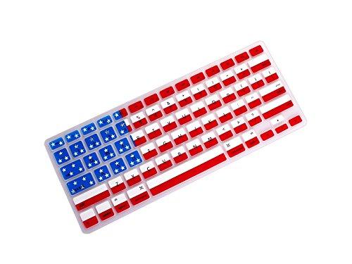 Yunqir Multi-functional America Flag Printed Macbook Keyboard Film National Flag Keyboard Cover for Air13.3