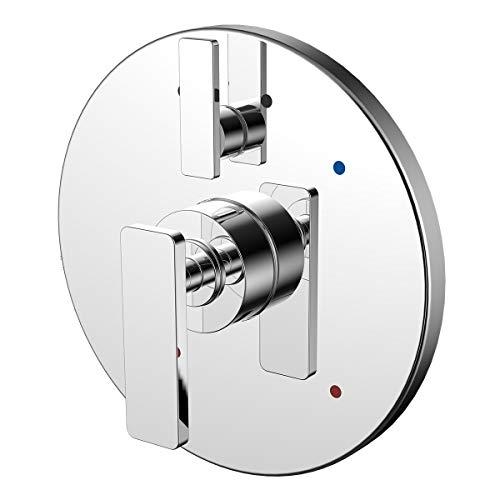 - Speakman CPT-27400 Vector Diverter Shower Valve Trim Kit in Polished Chrome,