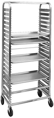 Channel Manufacturing 571AC6 36 Pan Side Load Aluminum Bun / Sheet Pan Rack - Assembled