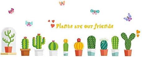 SOSO Tatuajes de pared Cactus verde Pegatinas de pared Diy Vinilos ...
