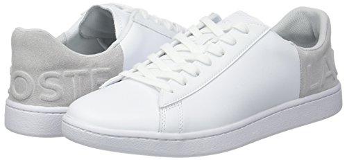 Mujer Gry Lacoste lt Evo Blanco Para Spw Zapatillas 3 14x Carnaby 318 wht xw04wP1pq