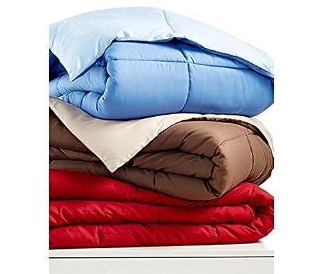Amazon.com: Home Design Down Alternative Color King Comforter: Home ...