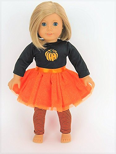 Michael Jackson Costume Makeup (Orange Glitter Pumpkin Tutu Dress Halloween Costume| Fits 18