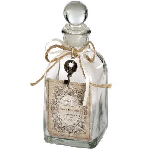 Antique Style French Bottle Jar With Stopper