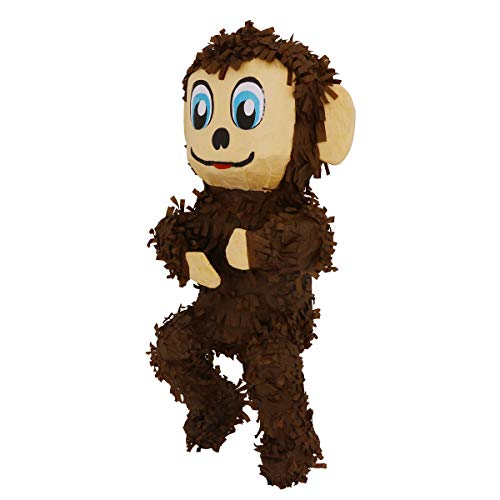 Monkey Pinata - Lytio Cute Monkey Pinata (Piñata) Ideal for Parties, Center Piece or Photo Prop