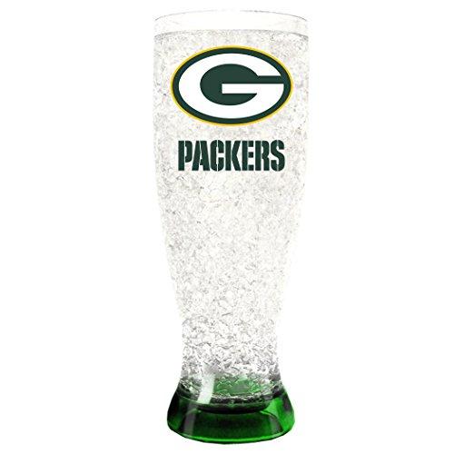 NFL Green Bay Packers 16oz Crystal Freezer Pilsner