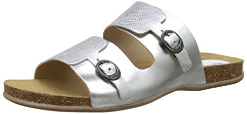 Kickers Anabi argent Mules Femme Argent 8HnOq8arw
