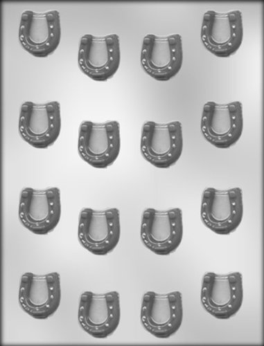 CK Products 1-1/8-Inch Horseshoe Chocolate Mold ()