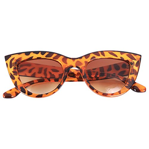 Rose Marron Soleil Retro Rose Vintage Leopard Cadre Femmes De Feminines Chat S17066 Lunettes Pour D'oeil Nrpfell HxRf7wqZ