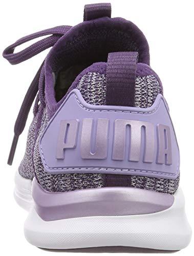 Puma Mädchen Ignite Flash Evoknit Metallic PS Sneaker