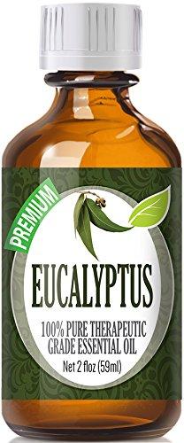 Eucalyptus (60ml) 100% Pure, Best Therapeutic Grade Essential Oil - 60ml / 2 (oz) Ounces