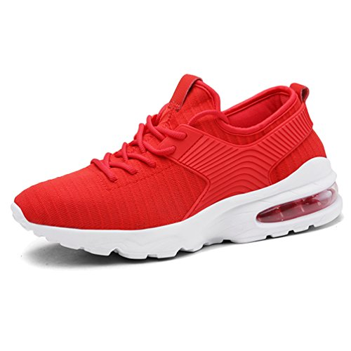 Running Fitness Flyknit Gym Pointure Tucsson Hommes fr Baskets Course De Sneakers Chaussures 44 Athlétique red 02 Sports 39 10YvXw