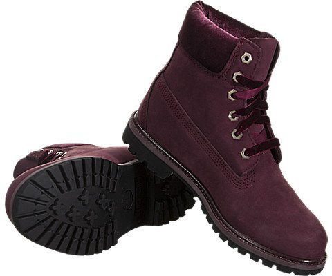 Pictures of Timberland Womens Velvet-Accent Premium Waterproof Boot A1KC1 4