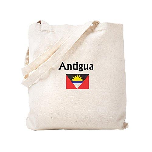 CafePress - Antigua - Natural Canvas Tote Bag, Cloth Shopping Bag