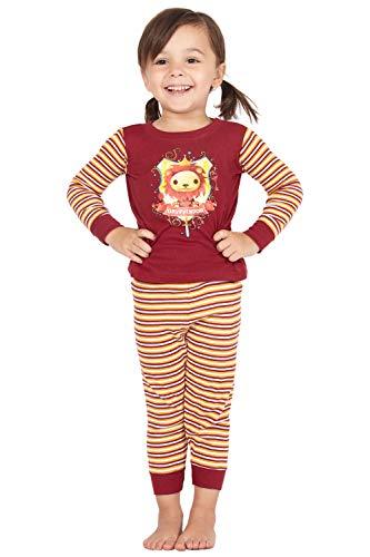 HARRY POTTER 'Gryffindor House Crest Lion' Cotton Baby Pajama Gift Set, Gryffindor, 18MO