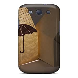 Excellent Design Origami House Night Lamp Case Cover For Galaxy S3 by runtopwell