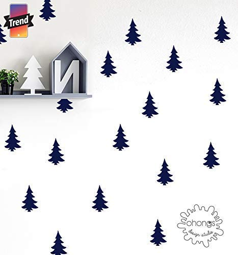 *Pine Tree Wall Decal/Woodland Wall Decal/Kids wall decoration/Home Decor 416idWfc1LL
