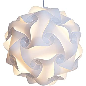 Infinity lights puzzle light white modern lamp shade x large infinity lights puzzle light white modern lamp shade x large mozeypictures Image collections