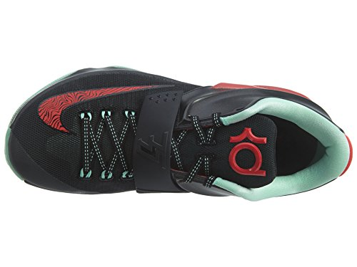 Sintética Baloncesto Zapato medium Kd Black De Vii Mint Red Nike Fibra Action vntxYgv6