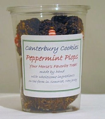 Canterbury Cookies Peppermint Plops Horse Treat - 12Pc by Aeromax