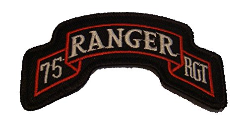 Scroll Rocker (75th ARMY RANGER REGIMENT SCROLL ROCKER PATCH - Color - Veteran Owned Business.)