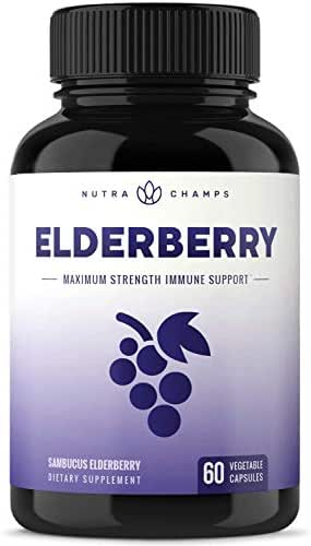 Vitamins & Supplements: Nutra Champs Elderberry