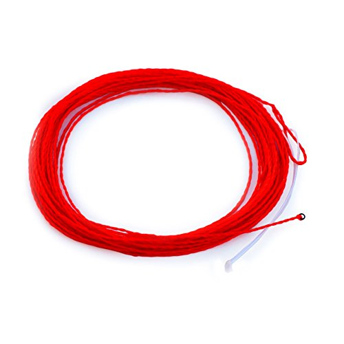 From usa tenkara rod co tenkara fly fishing line orange for Orange fishing line