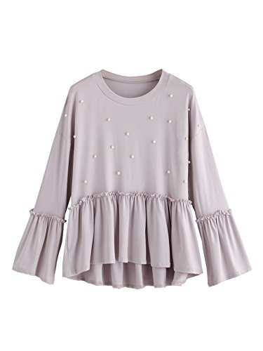 Long Sleeve Baby Doll Top - 5