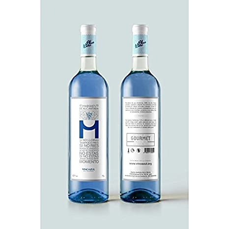 Vino Azul Marqués de Alcántara 5 Botellas + 1 GRATIS