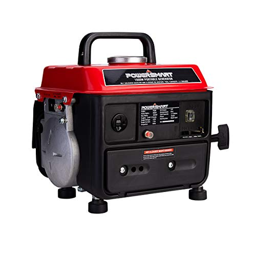 PowerSmart Generator 900 Running Watts/1000 Starting Watts, Gas Powered Portable Generator PS50A