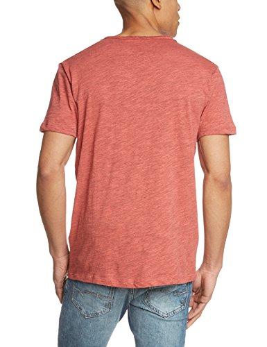 ONLY & SONS Onsthue Reg O-neck Noos - Camiseta para hombre Cranberry