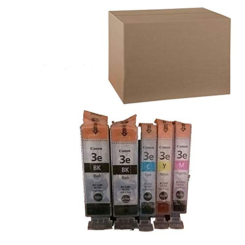 Bci Ink Tank Cyan 3e (Canon Bci-3e Ink (2 Large Black Ink Tanks, 1 Small Cyan Ink Tank, 1 Small Magenta Ink Tank, 1 Small Yellow Ink Tank))