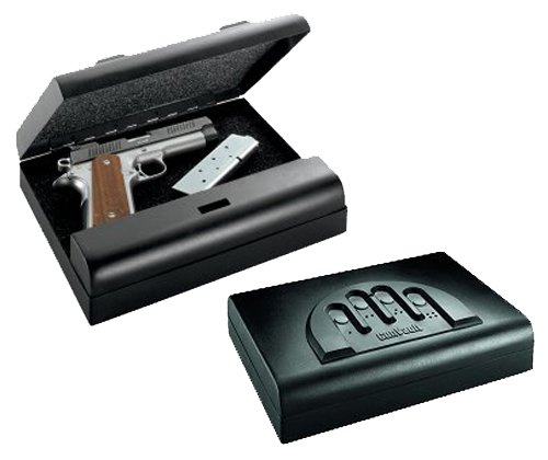 GunVault Microvault Standard Digital Pistol Safe MV500-STD (Best Handgun For 500)