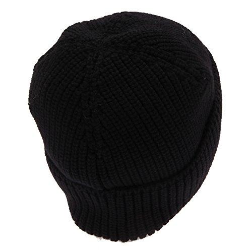 Wool Black Man Cuffia Uomo Nero Woolrich Beanie 7826w Hat qFz6wP