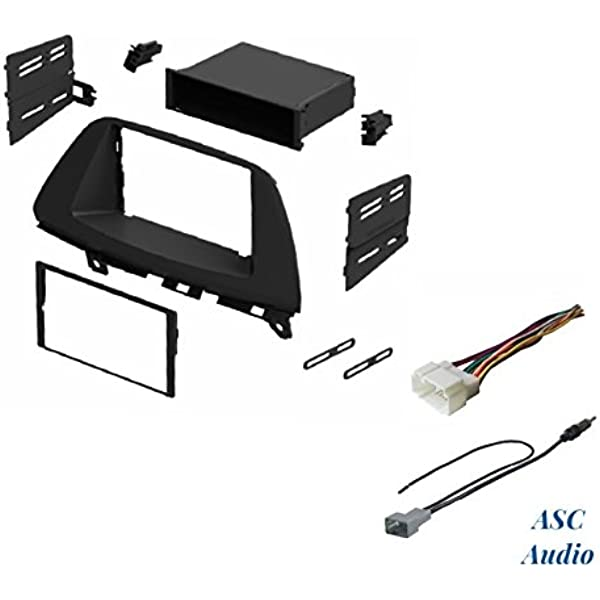 Amazon.com: ASC Audio Car Stereo Dash Install Kit, Wire Harness, and  Antenna Adapter for Installing an Aftermarket Radio for 2005 2006 2007 2008  2009 2010 Honda Odyssey: Car ElectronicsAmazon.com