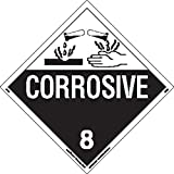 Labelmaster Z-EZ4 Corrosive Hazmat