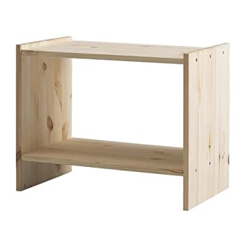 Ikea Rast Table De Chevet Pin 52x30 Cm Amazon Fr Cuisine Maison