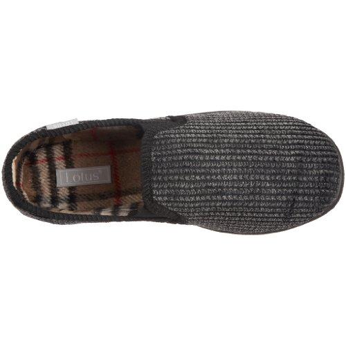 Lotus Bevis, Men's Low-Top Slippers Black (Black Cord)