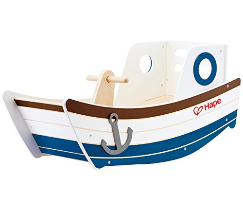 Award Winning Hape High Seas Wooden Toddler Rocking Ride -