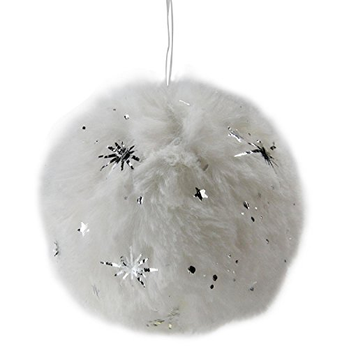 Fur Christmas Ornaments (3
