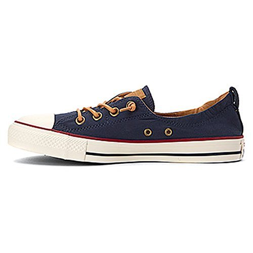 Converse Women's Chuck Taylor All Star Shoreline Sneaker Navy Red Deal (Large Image)